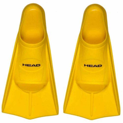 Palmes piscine Head Soft jaune
