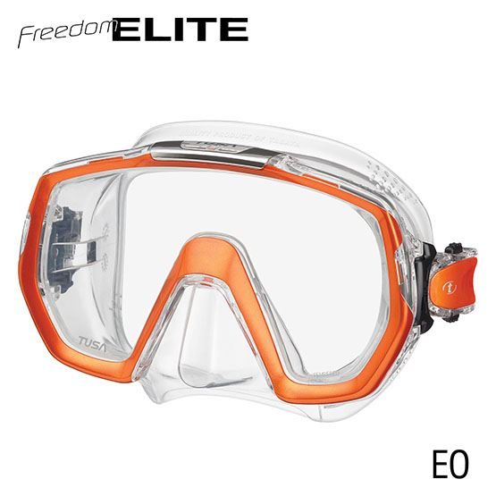 masque freedom elite orange