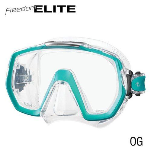 masque freedom elite turquoise