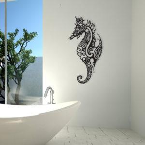 """Décoration murale """"Hippocampe"""""""