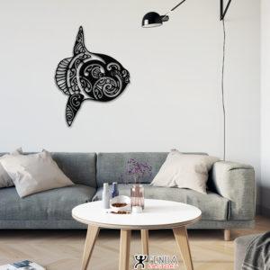 """Décoration murale """"Le Poisson Lune"""""""
