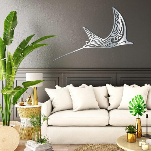 """Décoration murale """"La Raie Aigle"""""""