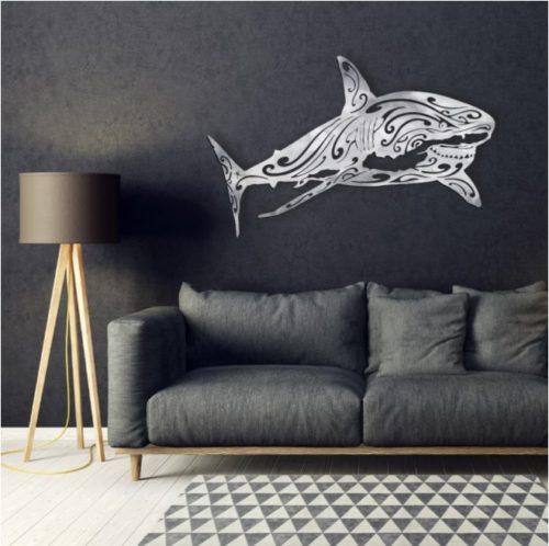 """Décoration murale """"Le Requin Blanc"""""""