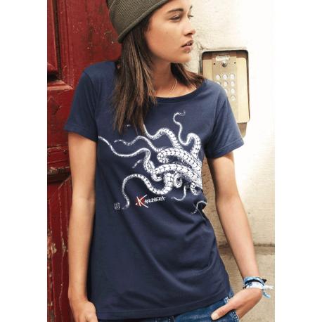 T-shirt Femme Kanumera Tentacules