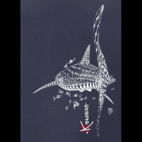 T-shirt Bio Kanumera requin baleine