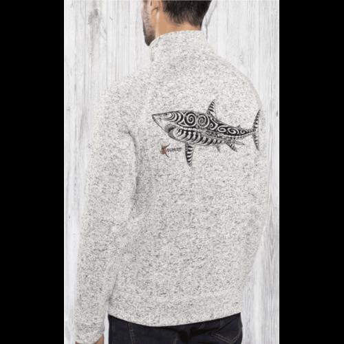 Veste polaire Kanumera Requin Tatoo