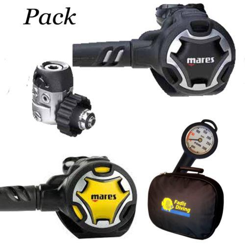 Pack Détendeur Mares Dual